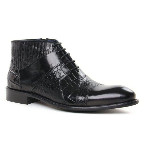 Chaussures Montantes Kdopa Dimaggio Noir, vue principale de la chaussure homme
