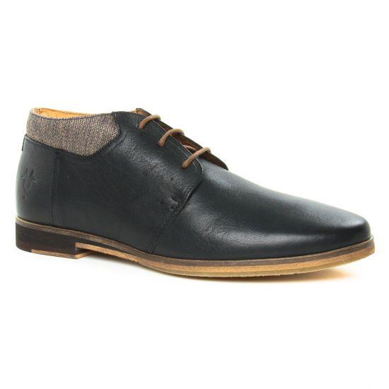 Chaussures Montantes Kost Ravageur Noir Taupe, vue principale de la chaussure homme