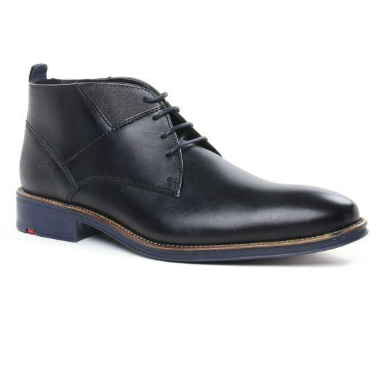Chaussures Montantes Lloyd Grant Noir, vue principale de la chaussure homme