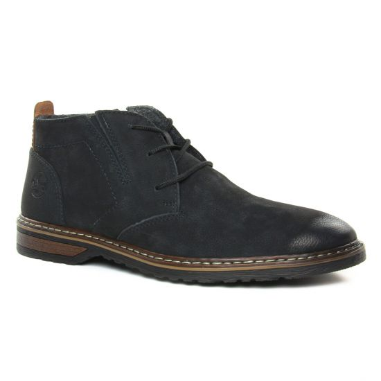 Chaussures Montantes Rieker 13930-00 Noir, vue principale de la chaussure homme