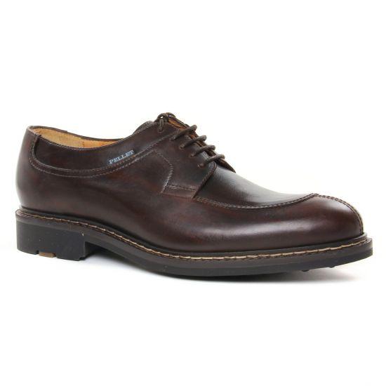 Chaussures Basses À Lacets Christian Pellet Magelland Marron, vue principale de la chaussure homme
