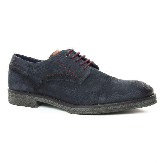 Chaussures Basses À Lacets Fluchos F0654 Marino, vue principale de la chaussure homme