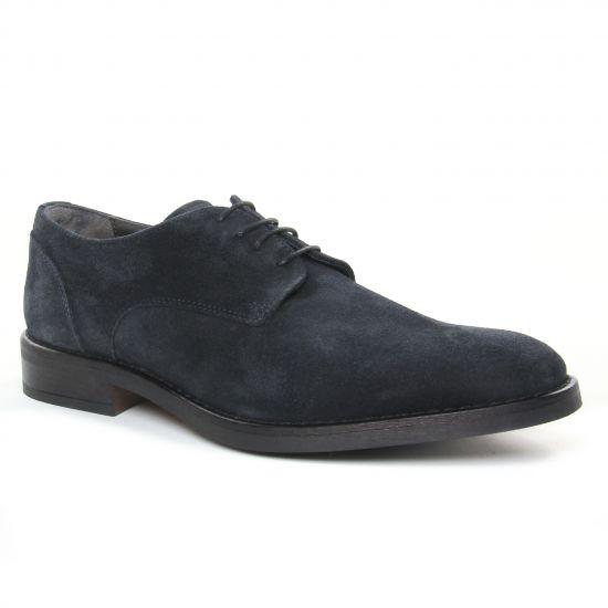 Chaussures Basses À Lacets Yann Bolligen 6400 Notte, vue principale de la chaussure homme