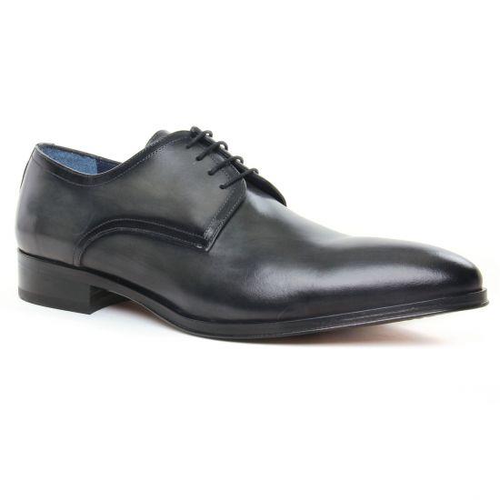 Chaussures Basses À Lacets Brett Sons 4203 Asfalto, vue principale de la chaussure homme