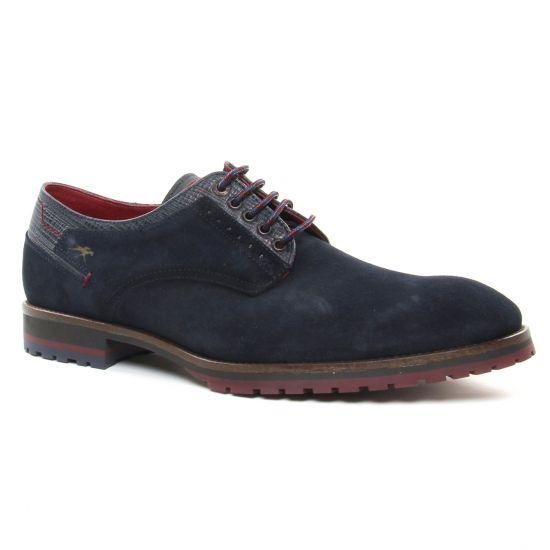 Chaussures Basses À Lacets Fluchos F0273 Marine, vue principale de la chaussure homme