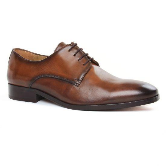 Chaussures Basses À Lacets Brett Sons 3952 Cognac, vue principale de la chaussure homme