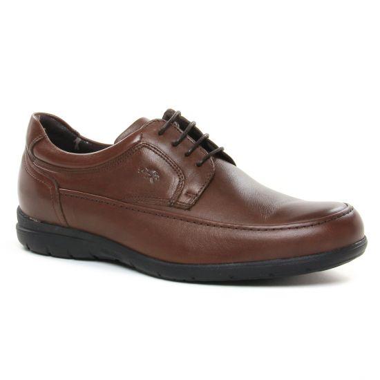 Chaussures Basses À Lacets Fluchos 8498 Castano, vue principale de la chaussure homme