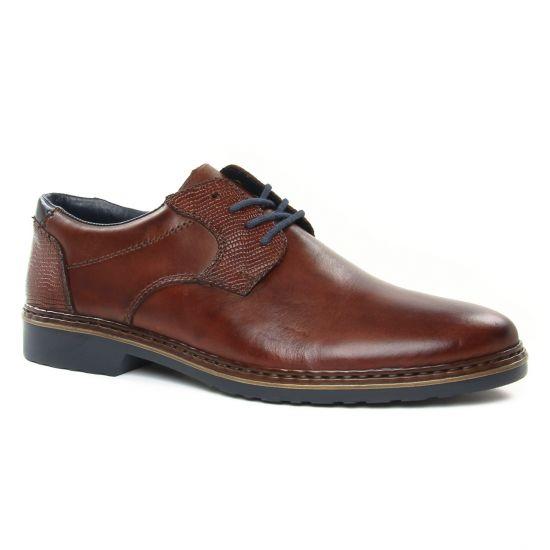 Chaussures Basses À Lacets Rieker 16541-25 Nute, vue principale de la chaussure homme