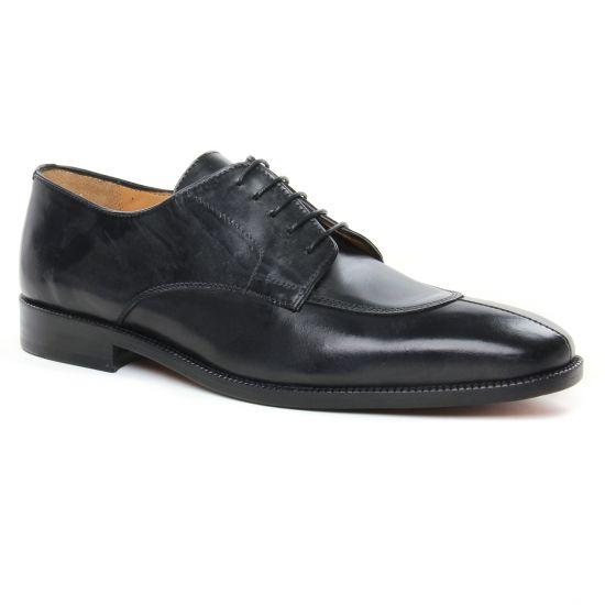 Chaussures Basses À Lacets Brett Sons 3545 Noir, vue principale de la chaussure homme