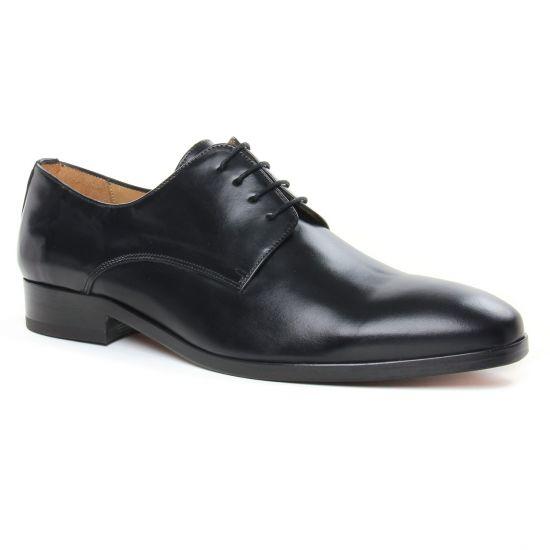 Chaussures Basses À Lacets Brett Sons 3952 Noir, vue principale de la chaussure homme