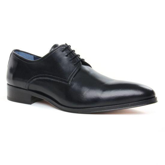 Chaussures Basses À Lacets Brett Sons 4203 Noir, vue principale de la chaussure homme