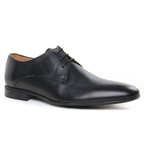 Chaussures Basses À Lacets Christian Pellet Leopold Noir, vue principale de la chaussure homme
