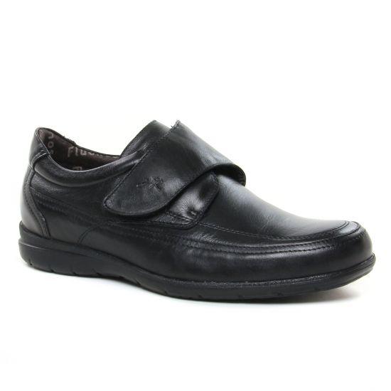 Chaussures Basses À Lacets Fluchos 8782 Negro, vue principale de la chaussure homme