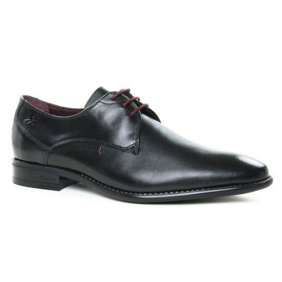 Chaussures Basses À Lacets Fluchos 9204 Negro, vue principale de la chaussure homme