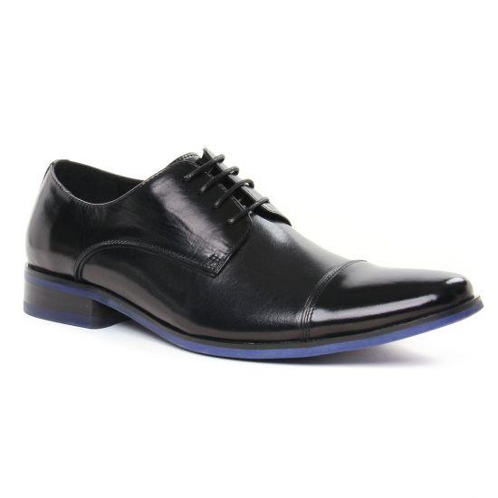 Chaussures Basses À Lacets Kdopa Lorick Noir, vue principale de la chaussure homme