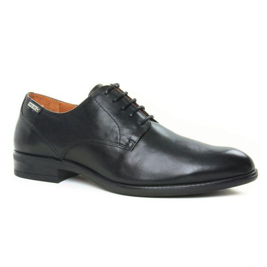 Chaussures Basses À Lacets Pikolinos Bristol M7J 4187 Black, vue principale de la chaussure homme