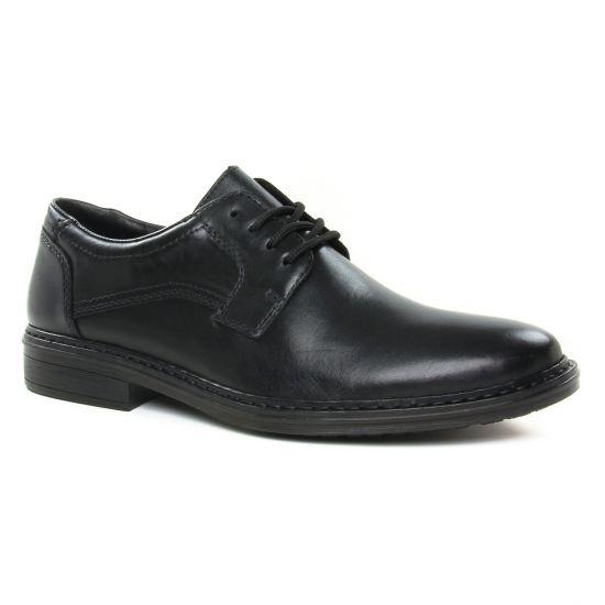 Chaussures Basses À Lacets Rieker 17627-00 Noir, vue principale de la chaussure homme