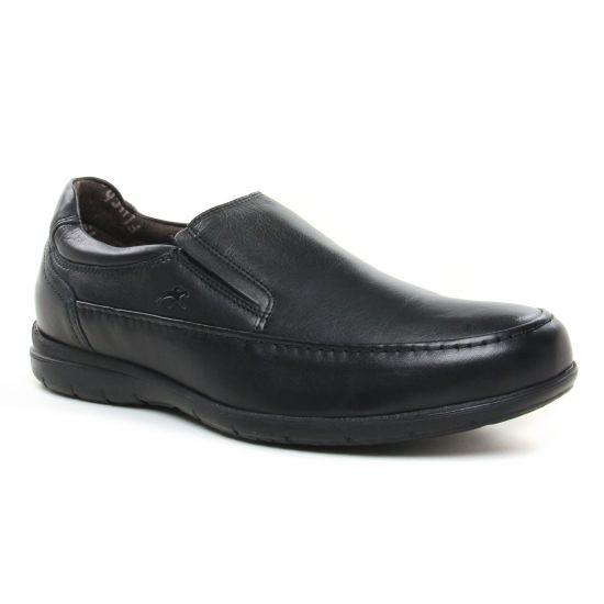 Mocassins Et Bateaux Fluchos 8499 Negro, vue principale de la chaussure homme