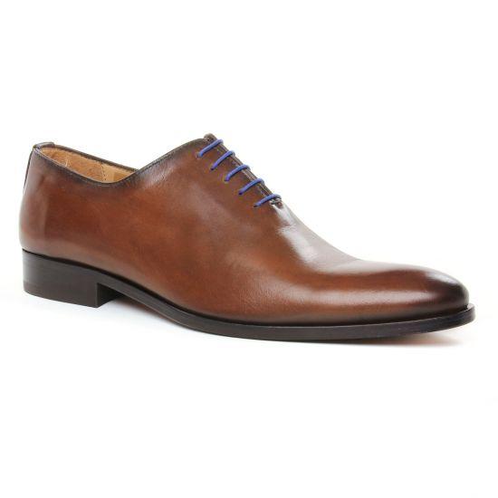 Chaussures Basses À Lacets Brett Sons 3816 Cognac, vue principale de la chaussure homme