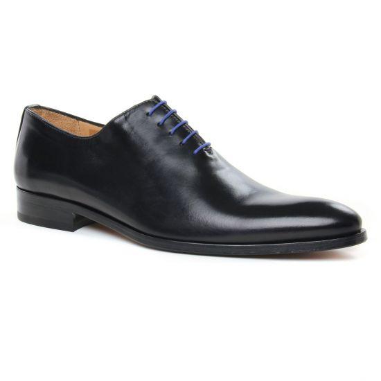 Chaussures Basses À Lacets Brett Sons 3816 Noir, vue principale de la chaussure homme