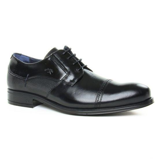 Chaussures Basses À Lacets Fluchos F0676 Negro, vue principale de la chaussure homme