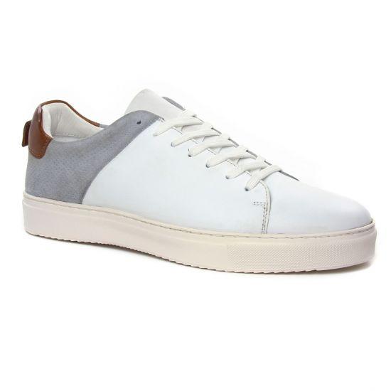 Tennis Twopens Uliver White, vue principale de la chaussure homme