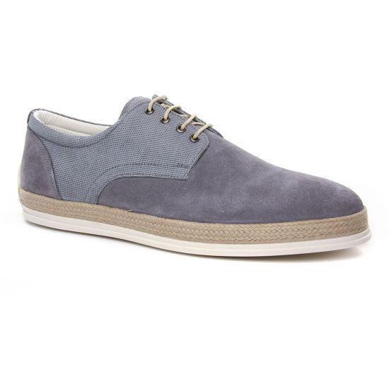 Chaussures Basses À Lacets Twopens Ugano Grey, vue principale de la chaussure homme