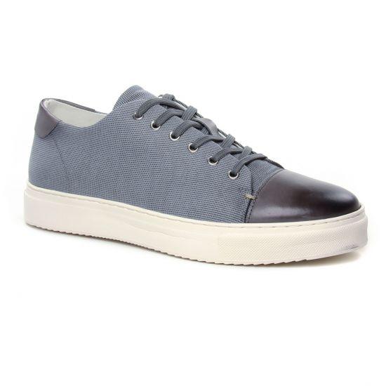 Tennis Twopens Ulou Grey, vue principale de la chaussure homme