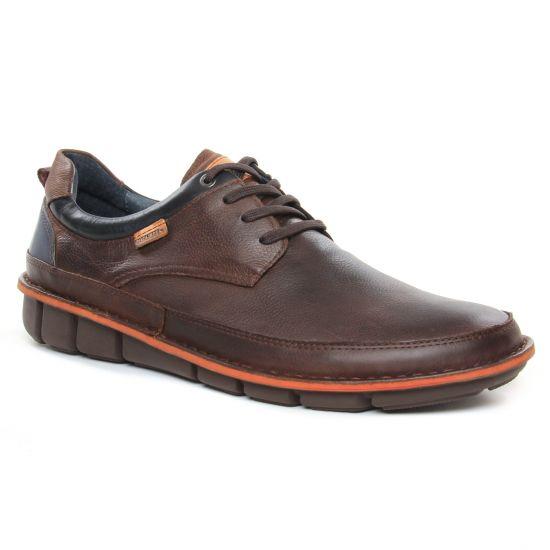 Tennis Pikolinos Tuleda 4307 Olmo, vue principale de la chaussure homme