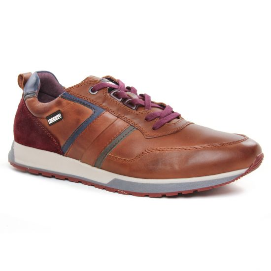 Tennis Pikolinos Cambil 6280 Cuero, vue principale de la chaussure homme