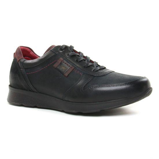 Tennis Fluchos F0645 Negro, vue principale de la chaussure homme