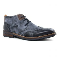 Chaussures homme hiver 2020 - bottines Chukka rieker bleu marine