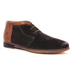 Chaussures homme hiver 2020 - bottines Chukka Kost marron foncé
