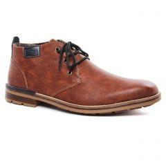 Chaussures homme hiver 2020 - bottines Chukka rieker marron