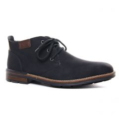 Chaussures homme hiver 2020 - bottines Chukka rieker noir