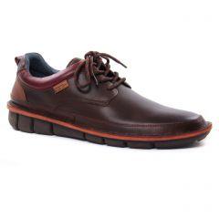 derbys marron foncé: même style de chaussures en ligne pour hommes que les Pikolinos
