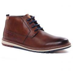 chaussures-montantes marron: même style de chaussures en ligne pour hommes que les Pikolinos