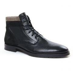Chaussures homme hiver 2020 - chaussures montantes Kost noir