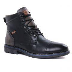chaussures-montantes noir: même style de chaussures en ligne pour hommes que les Pikolinos