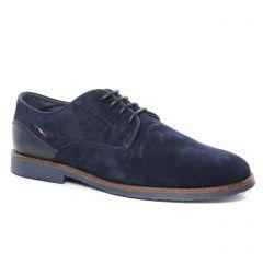 derbys bleu marine: même style de chaussures en ligne pour hommes que les Brett And Sons