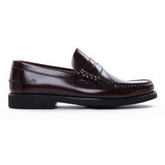 Chaussures homme hiver 2020 - mocassins Fluchos bordeaux