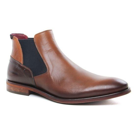 Chaussures Montantes Redskins Lost Brandy Marron, vue principale de la chaussure homme