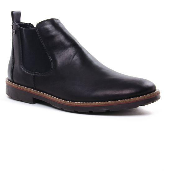 Chaussures Montantes Rieker 35382-00 Noir, vue principale de la chaussure homme