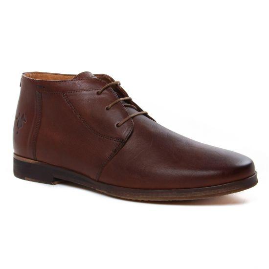 Chaussures Montantes Kost Albe 27 Marron, vue principale de la chaussure homme
