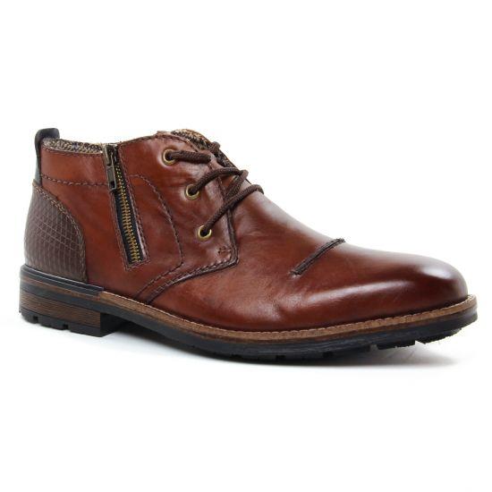 Chaussures Montantes Rieker B1344-25 Nut, vue principale de la chaussure homme