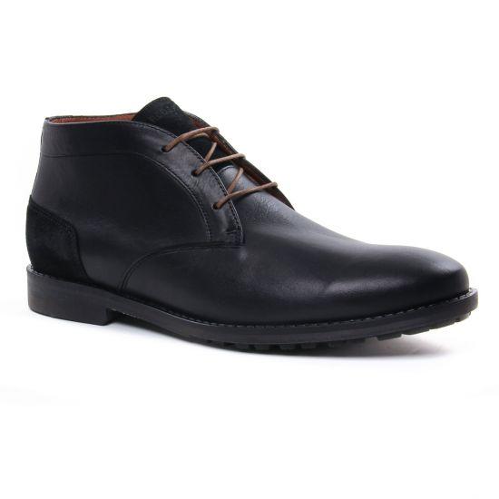 Chaussures Montantes Redskins Jayati Noir, vue principale de la chaussure homme