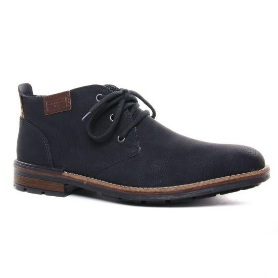 Chaussures Montantes Rieker B1340-01 Schwarz, vue principale de la chaussure homme