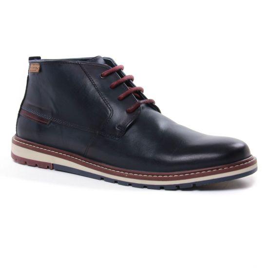 Chaussures Montantes Pikolinos Berna M8J-8198 Blue, vue principale de la chaussure homme