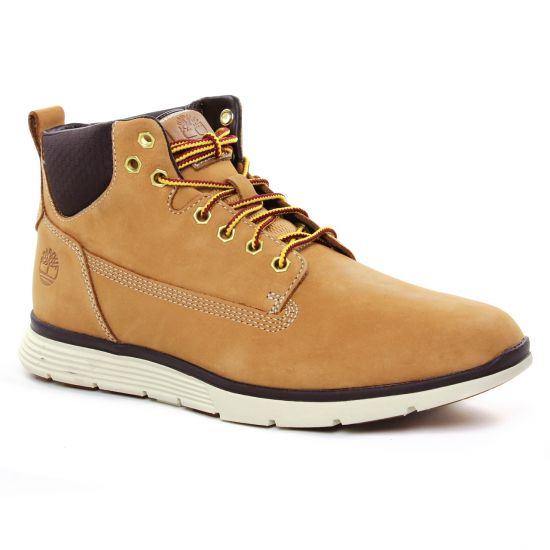 Chaussures Montantes Timberland Killington Wheat Nubuck, vue principale de la chaussure homme