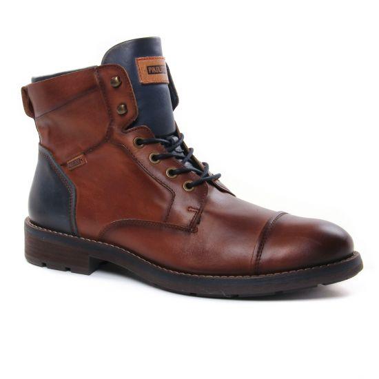Chaussures Montantes Pikolinos York M2M-8170 Cuero, vue principale de la chaussure homme